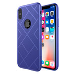 Чехол Nillkin Air case для Apple iPhone X (синий, пластиковый)