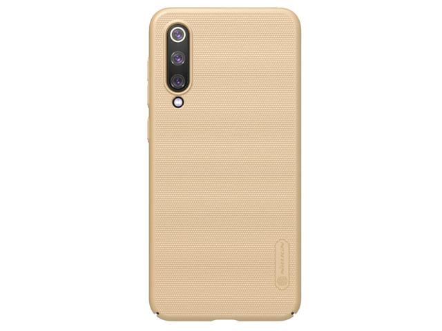 Чехол Nillkin Hard case для Xiaomi Mi 9 SE (золотистый, пластиковый)