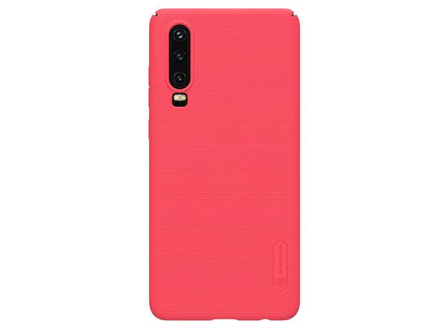Чехол Nillkin Hard case для Huawei P30 (красный, пластиковый)