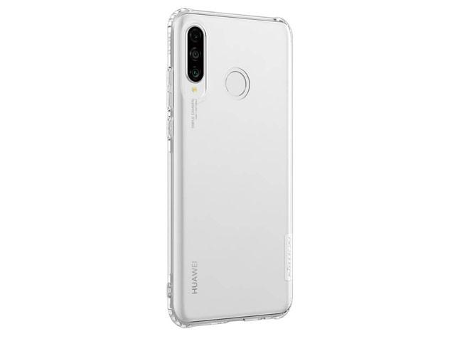 Чехол Nillkin Nature case для Huawei P30 lite (прозрачный, гелевый)