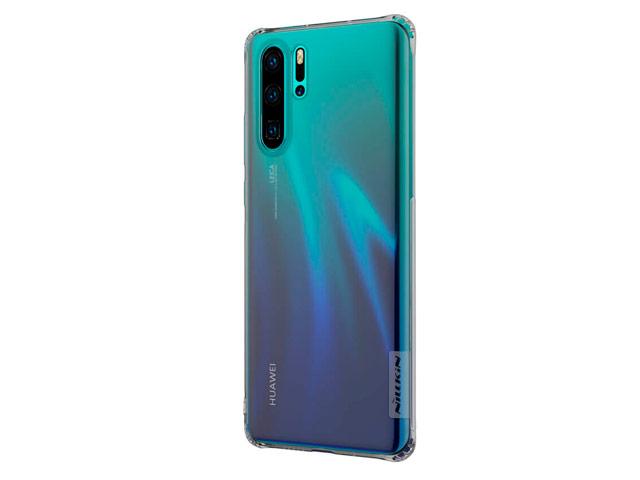 Чехол Nillkin Nature case для Huawei P30 pro (серый, гелевый)