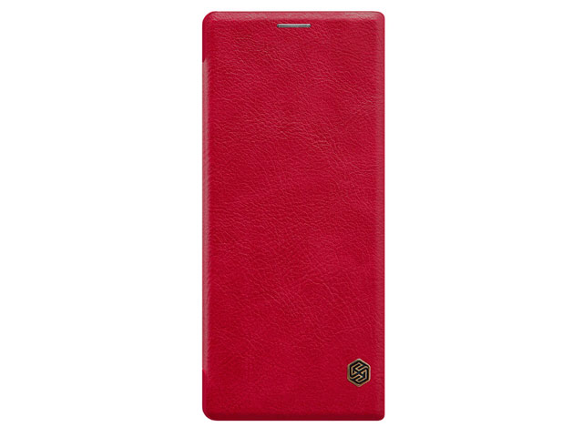 Чехол Nillkin Qin leather case для Sony Xperia 10 (красный, кожаный)