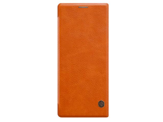 Чехол Nillkin Qin leather case для Sony Xperia 10 (коричневый, кожаный)
