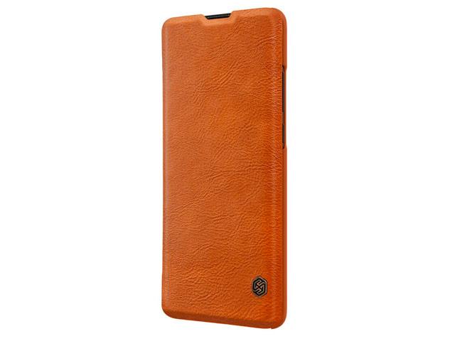 Чехол Nillkin Qin leather case для Huawei P30 pro (коричневый, кожаный)