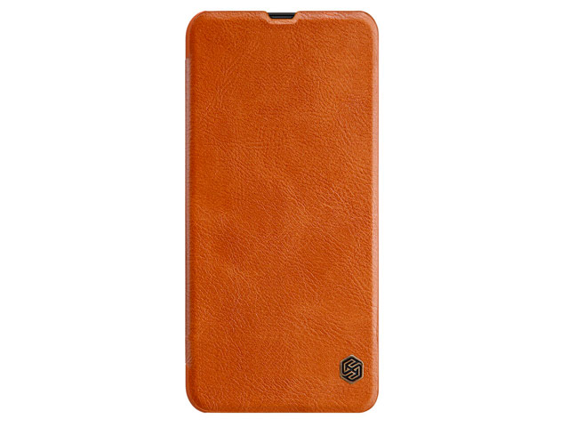 Чехол Nillkin Qin leather case для Samsung Galaxy A30 (коричневый, кожаный)