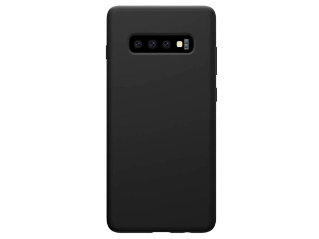 Чехол Nillkin Flex Pure case для Samsung Galaxy S10 (черный, гелевый)