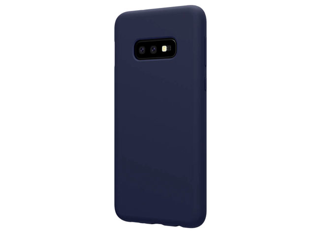Чехол Nillkin Flex Pure case для Samsung Galaxy S10 lite (синий, гелевый)