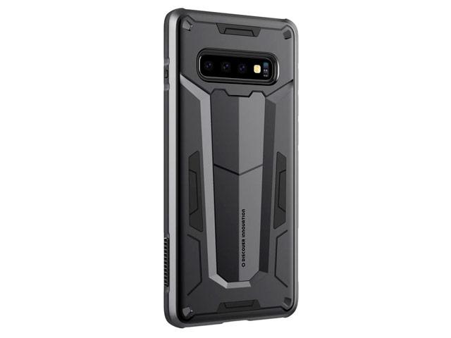 Чехол Nillkin Defender 2 case для Samsung Galaxy S10 (черный, усиленный)