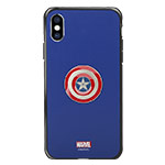 Чехол Marvel Avengers Hard case для Apple iPhone XS max (Captain America, пластиковый)