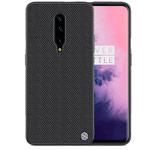 Чехол Nillkin Textured case для OnePlus 7 pro (черный, нейлон)