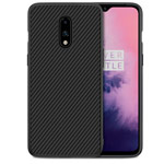 Чехол Nillkin Synthetic fiber для OnePlus 7 (черный, карбон)