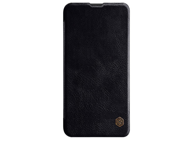 Чехол Nillkin Qin leather case для Samsung Galaxy A10 (черный, кожаный)
