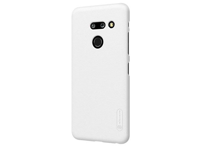 Чехол Nillkin Hard case для LG G8 ThinQ (белый, пластиковый)