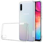 Чехол Nillkin Nature case для Samsung Galaxy A50 (прозрачный, гелевый)