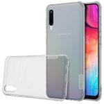 Чехол Nillkin Nature case для Samsung Galaxy A50 (серый, гелевый)