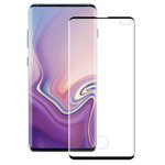 Защитное стекло Yotrix 3D Advance Glass Protector для Samsung Galaxy S10 plus (черное)