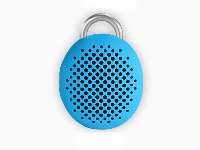 Портативная колонка Divoom Bluetune-Bean (голубая, безпроводная, моно)
