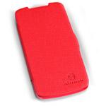 Чехол Nillkin Side leather case для HTC Desire 500 506e (красный, кожанный)