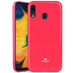 Чехол Mercury Goospery Jelly Case для Samsung Galaxy A30 (малиновый, гелевый)