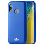 Чехол Mercury Goospery Jelly Case для Samsung Galaxy A30 (синий, гелевый)