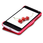Чехол Nillkin Side leather case для HTC One mini 601e (HTC M4) (красный, кожанный)