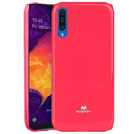 Чехол Mercury Goospery Jelly Case для Samsung Galaxy A50 (малиновый, гелевый)