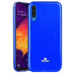 Чехол Mercury Goospery Jelly Case для Samsung Galaxy A50 (синий, гелевый)