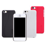 Чехол Nillkin Hard case для Apple iPhone 5C (белый, пластиковый)