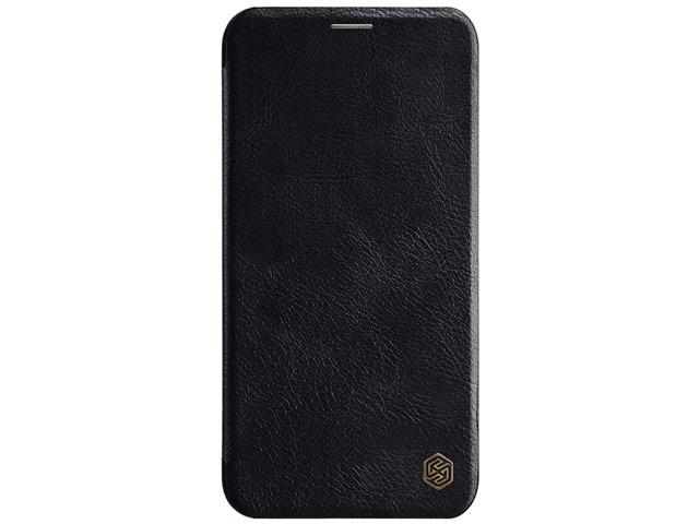 Чехол Nillkin Qin leather case для Apple iPhone 11 (черный, кожаный)