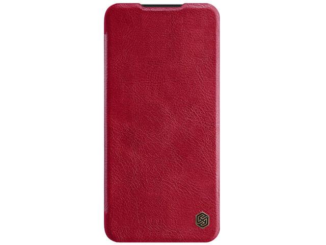 Чехол Nillkin Qin leather case для Xiaomi Redmi Note 8 pro (красный, кожаный)