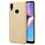 Чехол Nillkin Hard case для Samsung Galaxy A10s (золотистый, пластиковый)