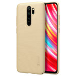 Чехол Nillkin Hard case для Xiaomi Redmi Note 8 pro (золотистый, пластиковый)