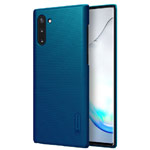 Чехол Nillkin Hard case для Samsung Galaxy Note 10 (синий, пластиковый)