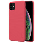 Чехол Nillkin Hard case для Apple iPhone 11 (красный, пластиковый)