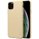 Чехол Nillkin Hard case для Apple iPhone 11 pro (золотистый, пластиковый)