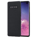 Чехол Synapse Carbon Shell для Samsung Galaxy S10 plus (черный, карбон)