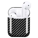 Чехол Synapse Carbon Shell для Apple AirPods 2 (черный, карбон)