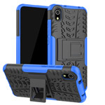 Чехол Yotrix Shockproof case для Xiaomi Redmi 7A (синий, пластиковый)