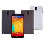 Чехол Nillkin Hard case для Samsung Galaxy Note 3 N9000 (черный, пластиковый)