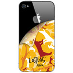 Скин The LostDog 2011 для Apple iPhone 4 (Blaze Orange)