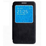 Чехол Nillkin Side leather case для Samsung Galaxy Note 3 N9000 (черный, кожанный)