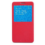 Чехол Nillkin V-series Leather case для Samsung Galaxy Note 3 N9000 (красный, кожанный)