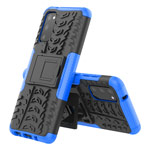 Чехол Yotrix Shockproof case для Samsung Galaxy S20 (синий, гелевый)