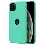 Чехол Nillkin Hard case для Apple iPhone 11 pro (голубой, с отверстием, пластиковый)