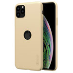 Купить Чехол Nillkin Hard case для Apple iPhone 11 pro max (золотистый, с отверстием, пластиковый)
