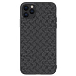 Чехол Nillkin Synthetic Fiber Plaid для Apple iPhone 11 pro (черный, карбон)