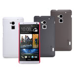 Чехол Nillkin Hard case для HTC One max 8088 (темно-коричневый, пластиковый)