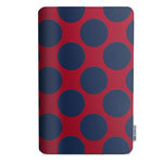 Чехол X-doria SmartStyle case для Apple iPad Air (Navy Dots, матерчатый)