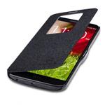 Чехол Nillkin Fresh Series Leather case для LG G2 D802 (черный, кожанный)