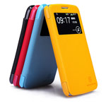 Чехол Nillkin Fresh Series Leather case для Samsung Galaxy Grand 2 G7106 (черный, кожаный)